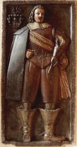 Płyta nagrobna Wilhelma Heinricha von Oberga